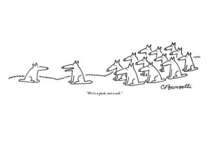 charles-barsotti-we-re-a-pack-not-a-cult-new-yorker-cartoon