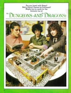 Dungeons and Dragons advert