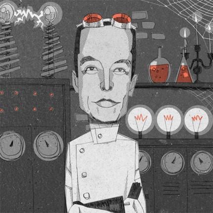 Elon as Frankenstein